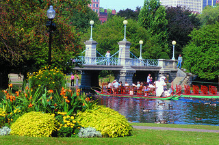Boston Public Garden Parking