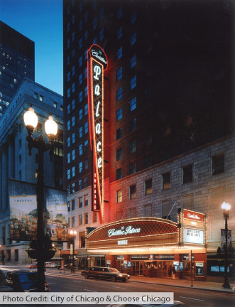 cadillac palace theatre discount chicago parking. Cars Review. Best American Auto & Cars Review