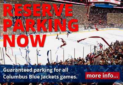 Columbus Blue Jackets - Nationwide Arena Parking