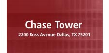 Chase Tower  dallas parking