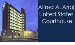 Alfred A. Arraj United States Courthouse Logo