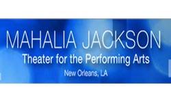 Mahalia Jackson Theater Logo