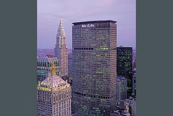 MetLife  Building Logo