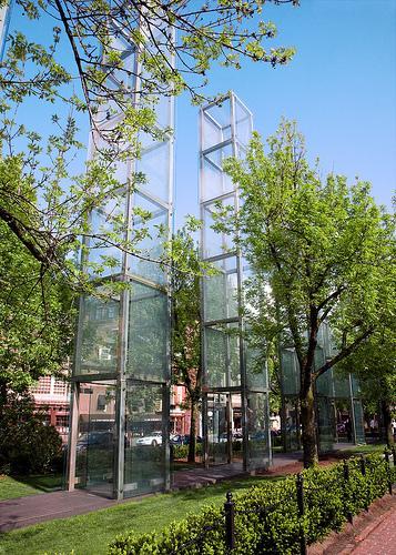 The New England Holocaust Memorial Parking