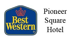 Pioneer Square Hotel and Salon Logo