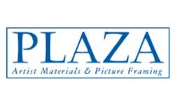 Plaza Artist Materials Logo