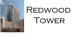 Redwood Tower Logo