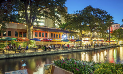 San Antonio River Walk Logo