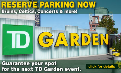 TD Garden Parking Reserve Parking Online