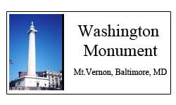 Washington Monument Logo