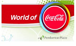 World of Coca-Cola Logo